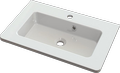 Cast marble washbasin ARTE