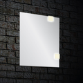 Modern mirror ANGOLO with LED