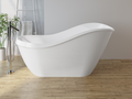 Cast marble bathtub CAPRI with overflow