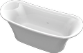 Cast marble bathtub CARINA