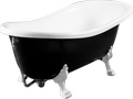 Cast marble retro bathtub CORONA 1680