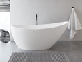 Cast marble bathtub CYGNUS