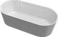 Cast marble bathtub DORADO
