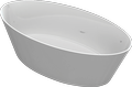 Cast marble bathtub HYDRA