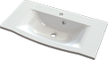 Cast marble washbasin JESI