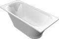 Cast marble bathtub LACERTA
