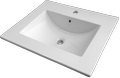 Ceramic washbasin LUNA