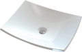 Countertop cast marble washbasin NORMA