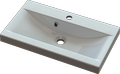 Cast marble washbasin VERONA