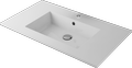 Cast marble washbasin VARIA