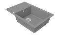 Cast marble sink VERE