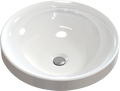 Inset cast marble washbasin TRULLA Round