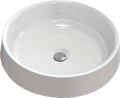 Countertop cast marble washbasin CAMELO Round