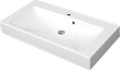 Cast marble washbasin DRACO