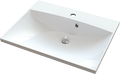 Cast marble washbasin MENSA