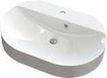 Cast marble washbasin MUSCA