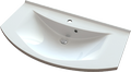 Cast marble washbasin TOSCANA