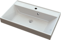 Cast marble washbasin TURIN